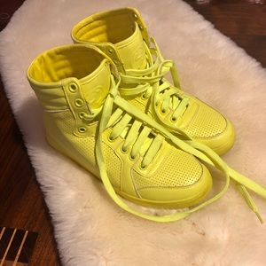Gucci Neon Hightops